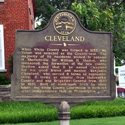 Cleveland Marker image. Click for full size.