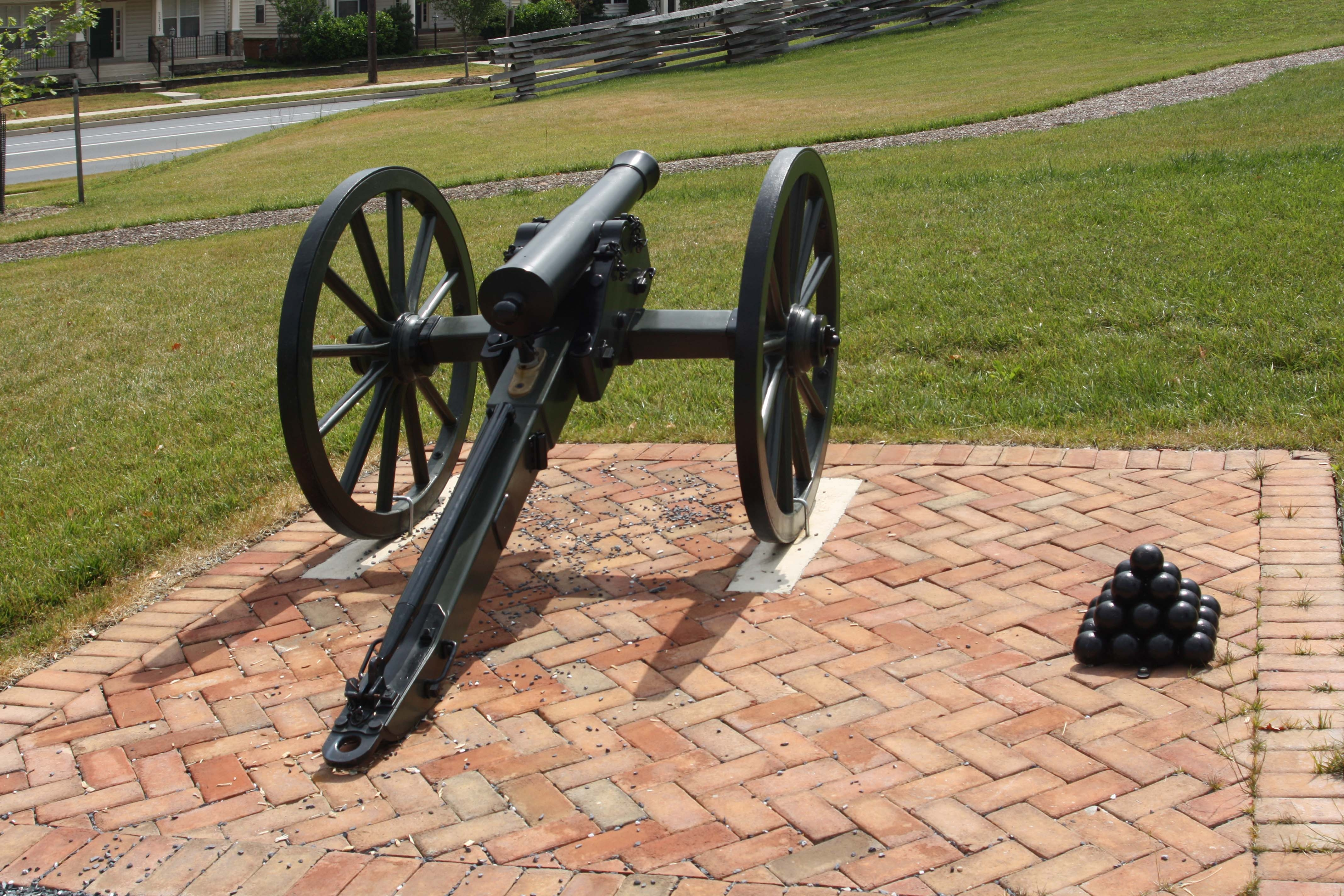 Replica Three-Pounder Cannon as mentioned