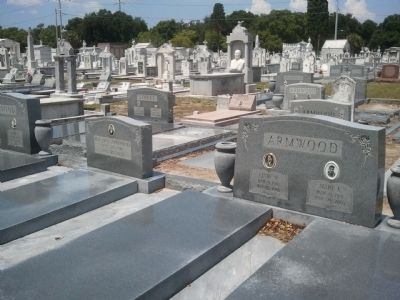 Armwood Family Plot at La Unione Italiana Cemetery image. Click for full size.