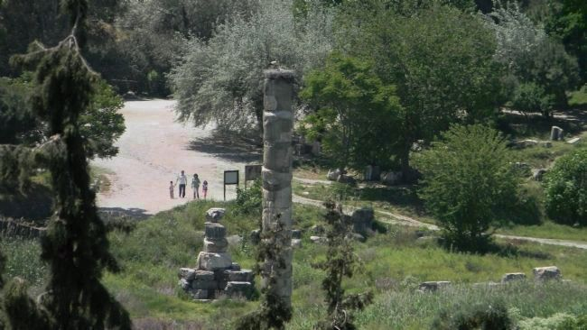 Ruins of the Temple of Artemis, one of the Seven Wonders of the Ancient World image. Click for full size.