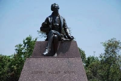Stephen Fuller Austin monument image. Click for full size.
