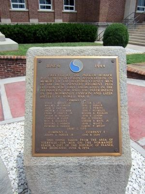 Bedford County WWII Memorial image. Click for full size.