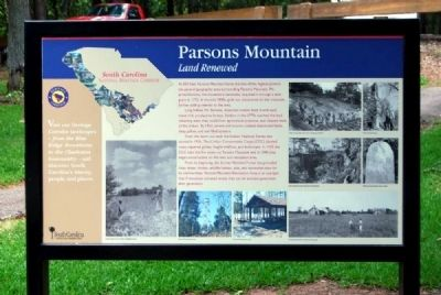 Parsons Mountain Marker image. Click for full size.