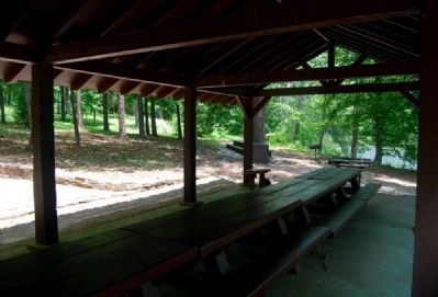Parsons Mountain -<br>Picnic Area Interior image. Click for full size.