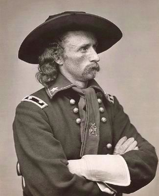 George A. Custer image. Click for full size.