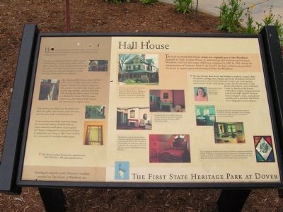 Hall House Marker image. Click for full size.