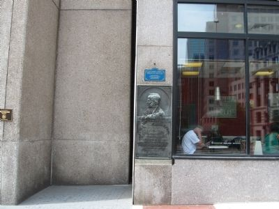 Horace Wells Marker image. Click for full size.