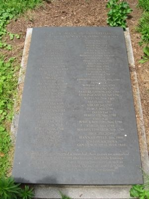 Sacred to the Memory Marker image. Click for full size.