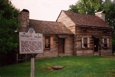 Crockett Tavern Museum image. Click for full size.