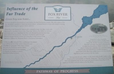 Influence of the Fur Trade Marker image. Click for full size.