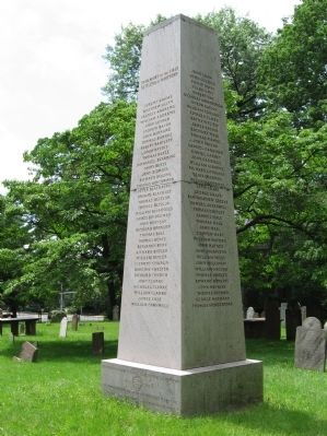 In Memory of the First Settlers of Hartford Monument image. Click for full size.