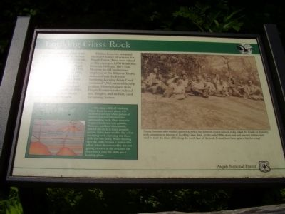 Looking Glass Rock Marker image. Click for full size.