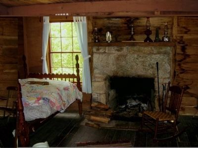 Ranger's Dwelling interior image. Click for full size.