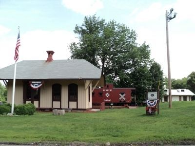 Mahwah's Original Train Station image. Click for full size.