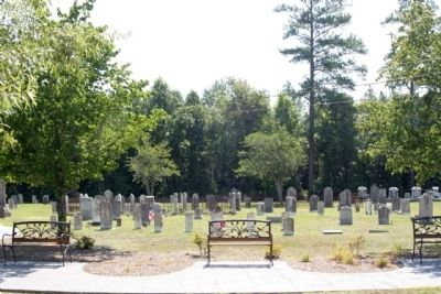 Target Methodist Church cemetery image. Click for full size.