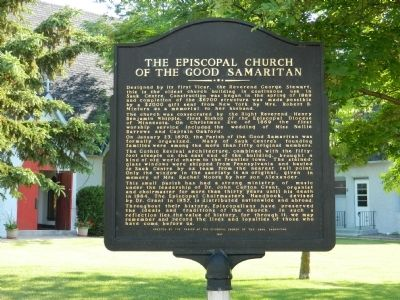 The Episcopal Church of the Good Samaritan Marker image. Click for full size.