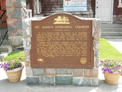 St, John's Episcopal Church Marker image. Click for full size.
