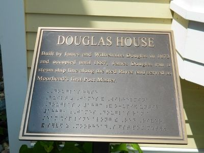 Douglas House Marker image. Click for full size.
