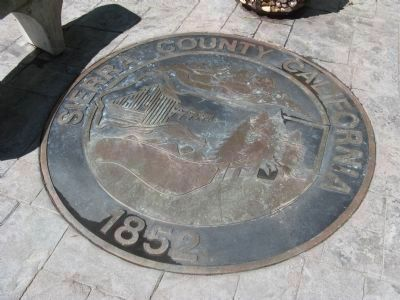 Sierra County Seal image. Click for full size.