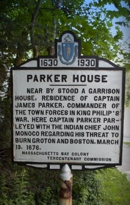 Parker House Marker image. Click for full size.