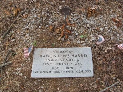In honor of Francis Eppes Harris image. Click for full size.