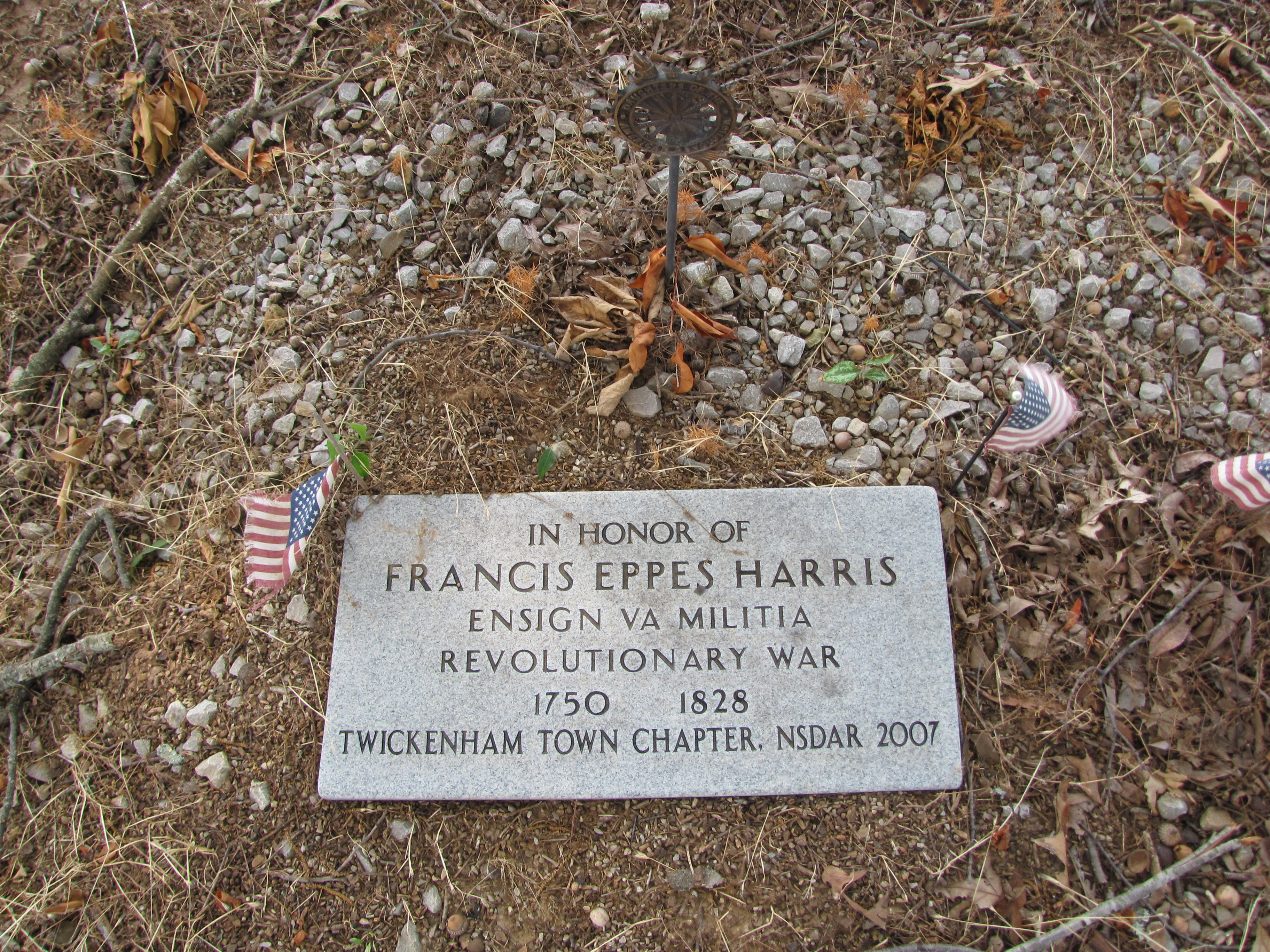 In honor of Francis Eppes Harris