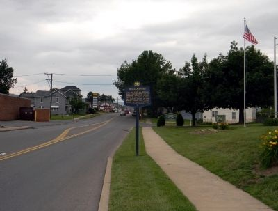 Wide view of the Williamsport Marker image. Click for full size.