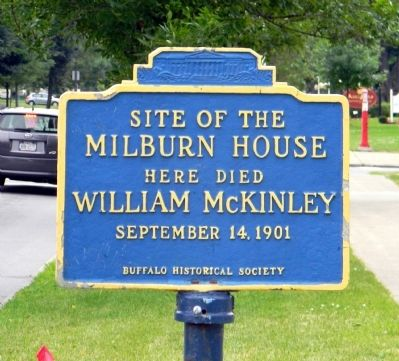Milburn House Marker image. Click for full size.