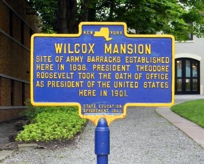 Wilcox Mansion Marker image. Click for full size.
