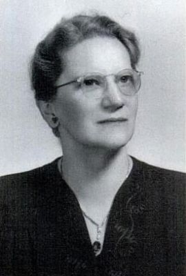 Dr. Annie Dove Denmark<br>President of Anderson College 1928-1953 image. Click for full size.