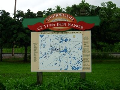 Cuyuna Range Heritage Society Sign image. Click for full size.
