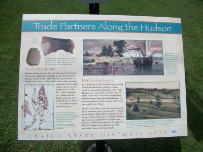 Trade Partners Along the Hudson Marker image. Click for full size.