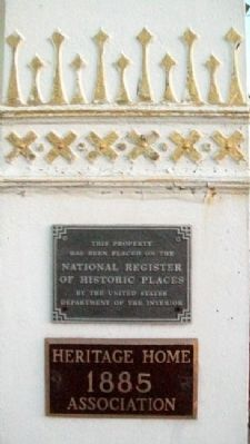 D. G. Smith Building NRHP Marker image. Click for full size.