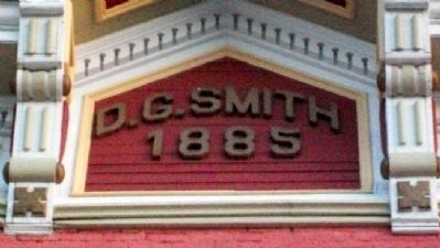 D. G. Smith Building Frontispiece image. Click for full size.