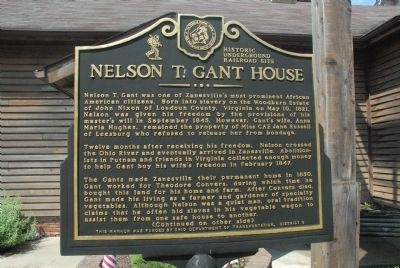 Nelson T. Gant House Marker image. Click for full size.