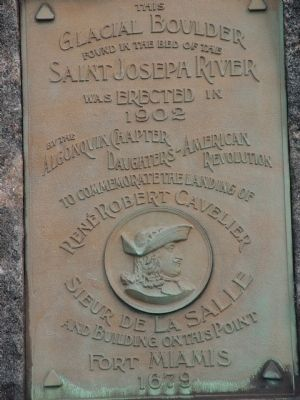 La Salle Memorial Marker image. Click for full size.