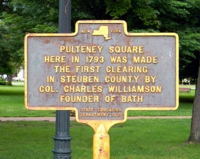 Pulteney Square Marker image. Click for full size.