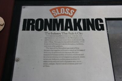 Ironmaking Marker image. Click for full size.