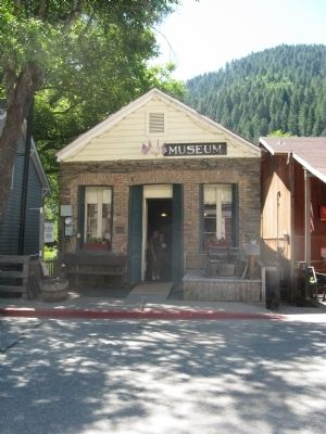 Downieville Museum and Markers image. Click for full size.