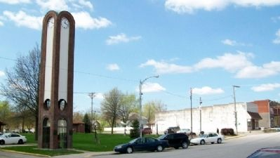 Lions Club Clock Tower image. Click for full size.