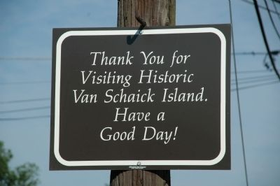 Van Schaick Island - Visit Again Soon! image. Click for full size.