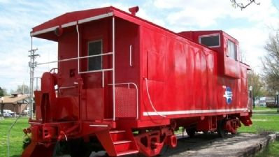 Missouri Pacific Caboose image. Click for full size.