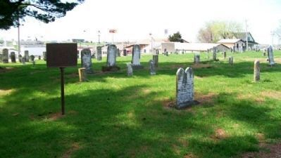 Civil War Casualties Grave Site and Marker image. Click for full size.