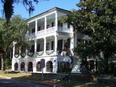 Beaufort , home of Maxey Rhett House, where informal talks of secession were held image. Click for full size.