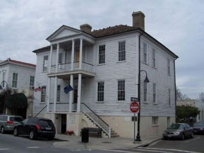Beaufort's Verdier house, where Lafayette addressed the local citizens March 18, 1825 image. Click for full size.