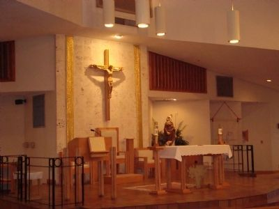 St. Anthony the Abbot Church Interior - Main Altar image. Click for full size.