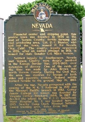 Nevada Marker (Side A) image. Click for full size.
