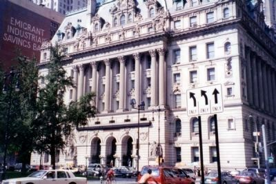 Surrogate's Court - Formerly Hall of Records image. Click for full size.