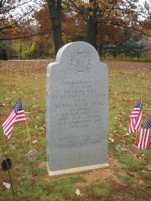 Paoli Veterans Monument image. Click for full size.