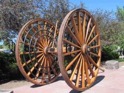 Logging Wheels image. Click for full size.
